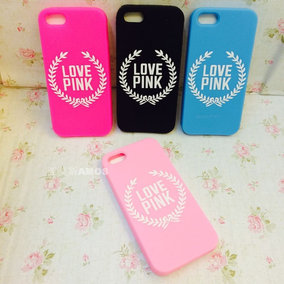 Iphone 5 cases love pink